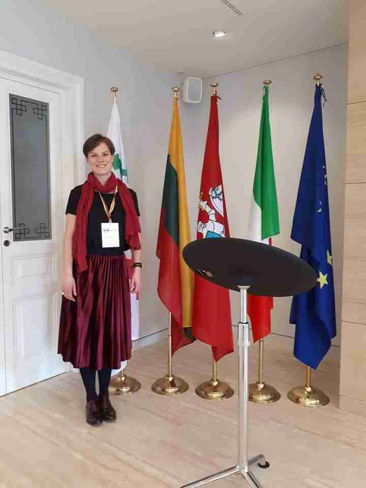 incontro in ambasciata lituana a Roma