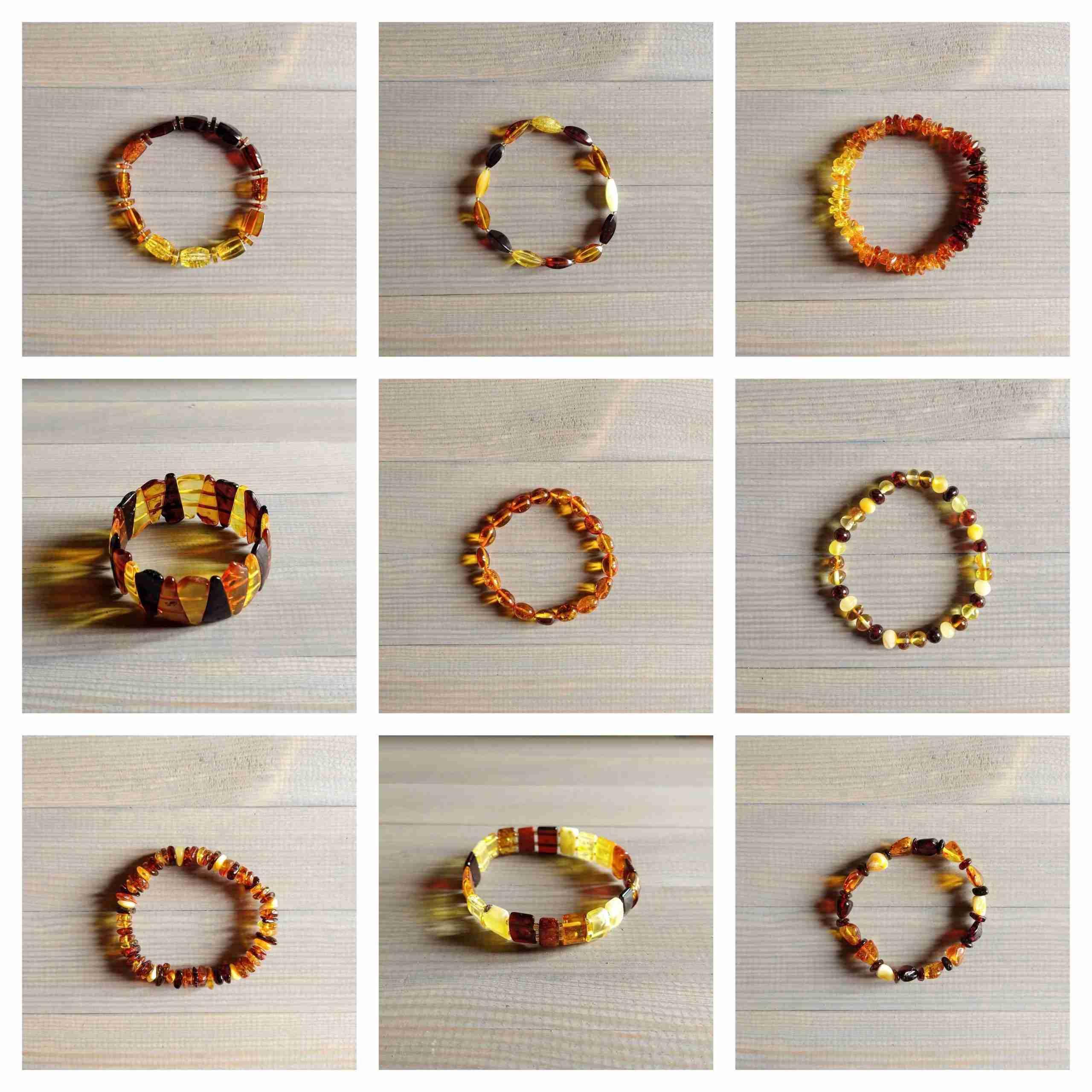 Bracciali in ambra shop online